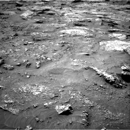 Nasa's Mars rover Curiosity acquired this image using its Right Navigation Camera on Sol 3158, at drive 1220, site number 89