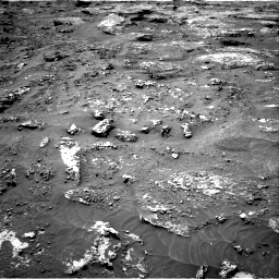 Nasa's Mars rover Curiosity acquired this image using its Right Navigation Camera on Sol 3158, at drive 1232, site number 89