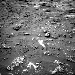 Nasa's Mars rover Curiosity acquired this image using its Right Navigation Camera on Sol 3158, at drive 1238, site number 89
