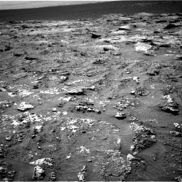 Nasa's Mars rover Curiosity acquired this image using its Right Navigation Camera on Sol 3158, at drive 1268, site number 89