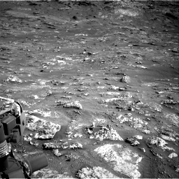 Nasa's Mars rover Curiosity acquired this image using its Right Navigation Camera on Sol 3158, at drive 1334, site number 89
