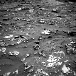 Nasa's Mars rover Curiosity acquired this image using its Right Navigation Camera on Sol 3158, at drive 1352, site number 89