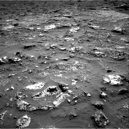 Nasa's Mars rover Curiosity acquired this image using its Right Navigation Camera on Sol 3158, at drive 1358, site number 89