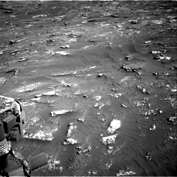 Nasa's Mars rover Curiosity acquired this image using its Right Navigation Camera on Sol 3158, at drive 1370, site number 89