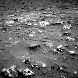 Nasa's Mars rover Curiosity acquired this image using its Right Navigation Camera on Sol 3158, at drive 1382, site number 89