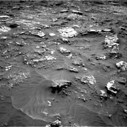 Nasa's Mars rover Curiosity acquired this image using its Right Navigation Camera on Sol 3158, at drive 1388, site number 89
