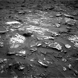 Nasa's Mars rover Curiosity acquired this image using its Right Navigation Camera on Sol 3158, at drive 1412, site number 89