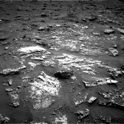 Nasa's Mars rover Curiosity acquired this image using its Right Navigation Camera on Sol 3158, at drive 1424, site number 89