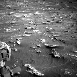 Nasa's Mars rover Curiosity acquired this image using its Right Navigation Camera on Sol 3158, at drive 1430, site number 89
