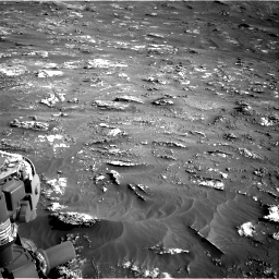 Nasa's Mars rover Curiosity acquired this image using its Right Navigation Camera on Sol 3158, at drive 1442, site number 89