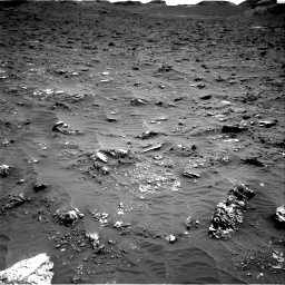 Nasa's Mars rover Curiosity acquired this image using its Right Navigation Camera on Sol 3158, at drive 1448, site number 89