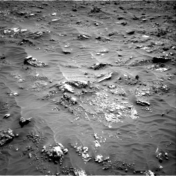 Nasa's Mars rover Curiosity acquired this image using its Right Navigation Camera on Sol 3158, at drive 1454, site number 89