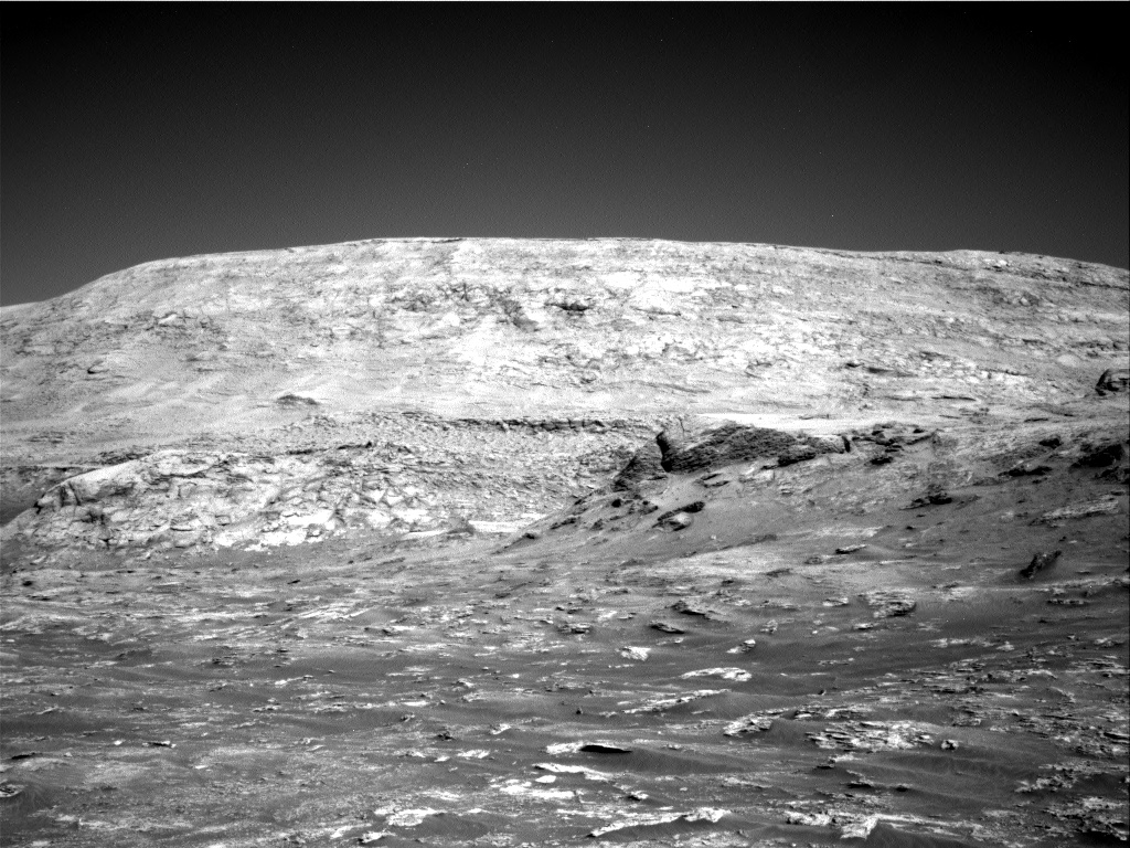 Nasa's Mars rover Curiosity acquired this image using its Right Navigation Camera on Sol 3158, at drive 1466, site number 89