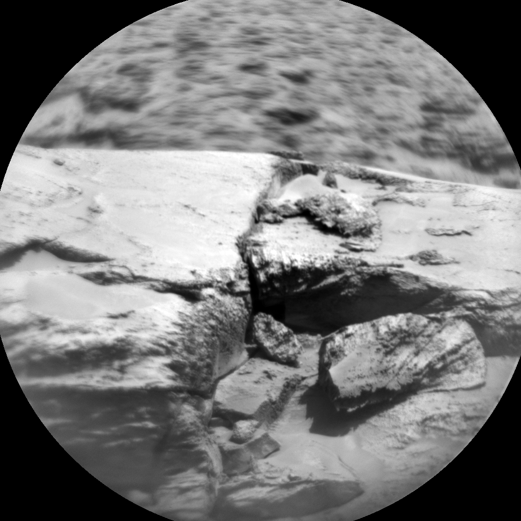 Nasa's Mars rover Curiosity acquired this image using its Chemistry & Camera (ChemCam) on Sol 3158, at drive 1082, site number 89