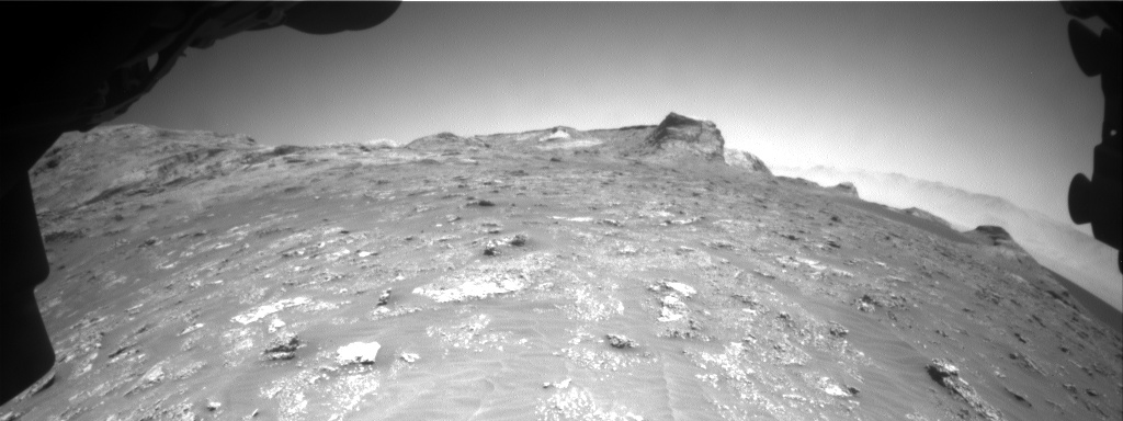 Nasa's Mars rover Curiosity acquired this image using its Front Hazard Avoidance Camera (Front Hazcam) on Sol 3159, at drive 1466, site number 89