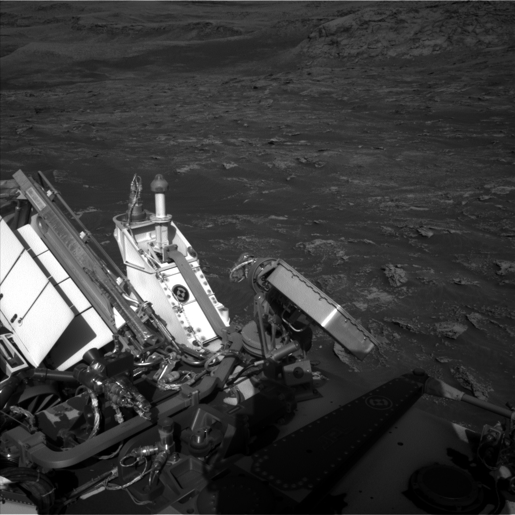 Nasa's Mars rover Curiosity acquired this image using its Left Navigation Camera on Sol 3159, at drive 1466, site number 89