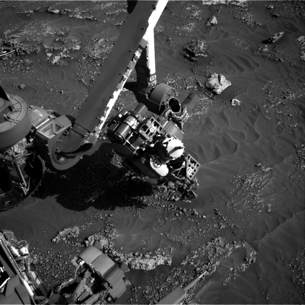 Nasa's Mars rover Curiosity acquired this image using its Right Navigation Camera on Sol 3160, at drive 1466, site number 89