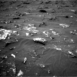Nasa's Mars rover Curiosity acquired this image using its Left Navigation Camera on Sol 3161, at drive 1574, site number 89