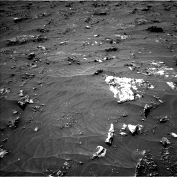 Nasa's Mars rover Curiosity acquired this image using its Left Navigation Camera on Sol 3161, at drive 1586, site number 89