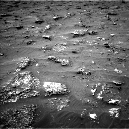 Nasa's Mars rover Curiosity acquired this image using its Left Navigation Camera on Sol 3161, at drive 1604, site number 89