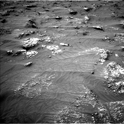 Nasa's Mars rover Curiosity acquired this image using its Left Navigation Camera on Sol 3161, at drive 1616, site number 89