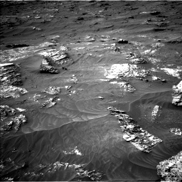 Nasa's Mars rover Curiosity acquired this image using its Left Navigation Camera on Sol 3161, at drive 1676, site number 89