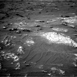 Nasa's Mars rover Curiosity acquired this image using its Left Navigation Camera on Sol 3161, at drive 1706, site number 89