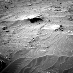 Nasa's Mars rover Curiosity acquired this image using its Left Navigation Camera on Sol 3161, at drive 1784, site number 89