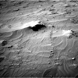 Nasa's Mars rover Curiosity acquired this image using its Left Navigation Camera on Sol 3161, at drive 1802, site number 89