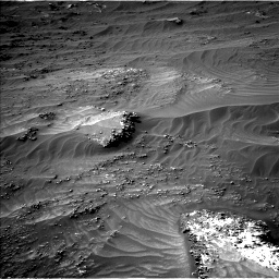 Nasa's Mars rover Curiosity acquired this image using its Left Navigation Camera on Sol 3161, at drive 1826, site number 89
