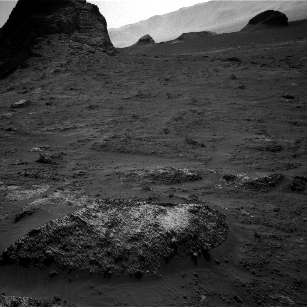 Nasa's Mars rover Curiosity acquired this image using its Left Navigation Camera on Sol 3161, at drive 1862, site number 89