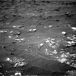 Nasa's Mars rover Curiosity acquired this image using its Right Navigation Camera on Sol 3161, at drive 1538, site number 89