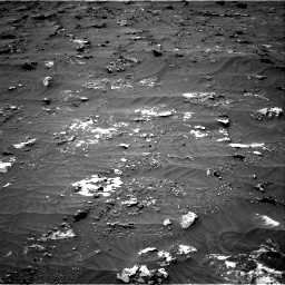 Nasa's Mars rover Curiosity acquired this image using its Right Navigation Camera on Sol 3161, at drive 1550, site number 89
