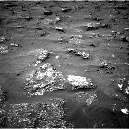Nasa's Mars rover Curiosity acquired this image using its Right Navigation Camera on Sol 3161, at drive 1610, site number 89