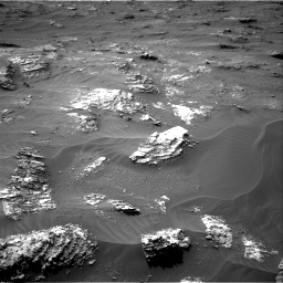 Nasa's Mars rover Curiosity acquired this image using its Right Navigation Camera on Sol 3161, at drive 1658, site number 89