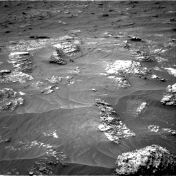 Nasa's Mars rover Curiosity acquired this image using its Right Navigation Camera on Sol 3161, at drive 1664, site number 89