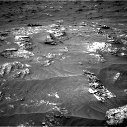 Nasa's Mars rover Curiosity acquired this image using its Right Navigation Camera on Sol 3161, at drive 1670, site number 89