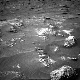 Nasa's Mars rover Curiosity acquired this image using its Right Navigation Camera on Sol 3161, at drive 1676, site number 89