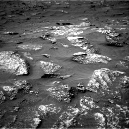 Nasa's Mars rover Curiosity acquired this image using its Right Navigation Camera on Sol 3161, at drive 1694, site number 89