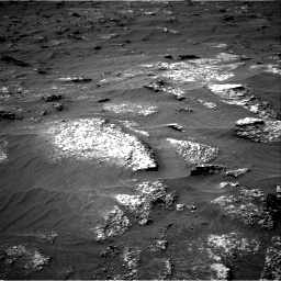 Nasa's Mars rover Curiosity acquired this image using its Right Navigation Camera on Sol 3161, at drive 1700, site number 89