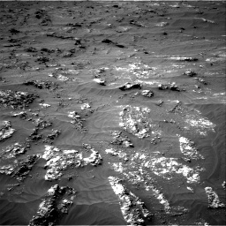 Nasa's Mars rover Curiosity acquired this image using its Right Navigation Camera on Sol 3161, at drive 1718, site number 89