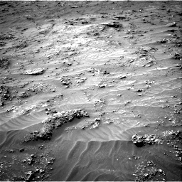 Nasa's Mars rover Curiosity acquired this image using its Right Navigation Camera on Sol 3161, at drive 1760, site number 89