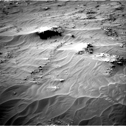 Nasa's Mars rover Curiosity acquired this image using its Right Navigation Camera on Sol 3161, at drive 1784, site number 89