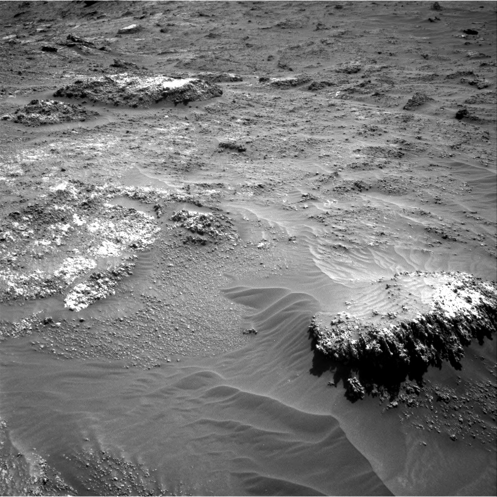 Nasa's Mars rover Curiosity acquired this image using its Right Navigation Camera on Sol 3161, at drive 1802, site number 89