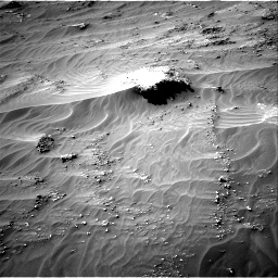 Nasa's Mars rover Curiosity acquired this image using its Right Navigation Camera on Sol 3161, at drive 1808, site number 89