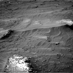 Nasa's Mars rover Curiosity acquired this image using its Right Navigation Camera on Sol 3161, at drive 1820, site number 89