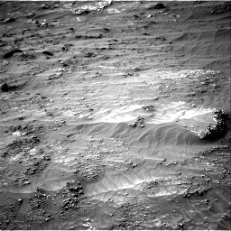 Nasa's Mars rover Curiosity acquired this image using its Right Navigation Camera on Sol 3161, at drive 1844, site number 89