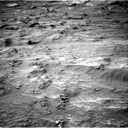 Nasa's Mars rover Curiosity acquired this image using its Right Navigation Camera on Sol 3161, at drive 1850, site number 89