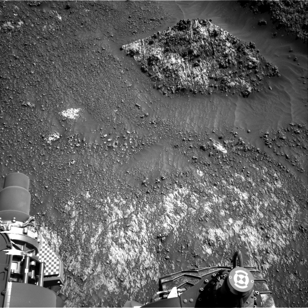 Nasa's Mars rover Curiosity acquired this image using its Right Navigation Camera on Sol 3161, at drive 1862, site number 89
