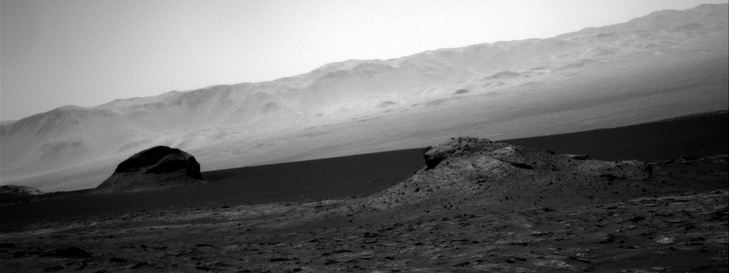 Nasa's Mars rover Curiosity acquired this image using its Right Navigation Camera on Sol 3162, at drive 1862, site number 89